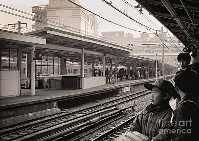 Photograph - Waiting For The Ginza by Ellen Cotton
