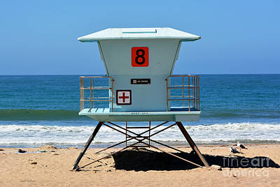 Photograph - Waiting For The Lifeguard by Susan Wiedmann