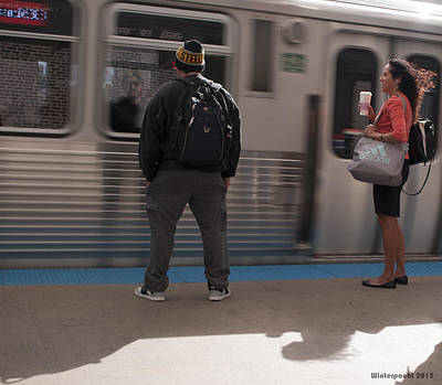 Photograph - Waiting For The Redline by Miguel Winterpacht