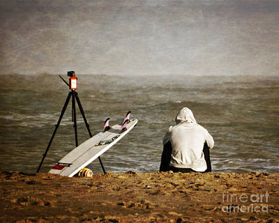 Photograph - Waiting For The Wave by Dawn Gari