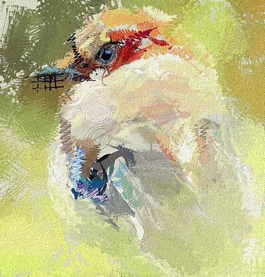 Wild Bird Digital Art - Waiting For The Winter by Yury Malkov