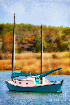 Waiting For Wind - Outer Banks I Art Print by Dan Carmichael