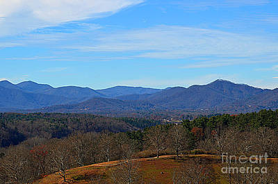 Photograph - Waiting For Winter In The Blue Ridge Mountains by Luther Fine Art