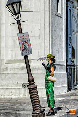Photograph - Waiting For You -nola by Kathleen K Parker