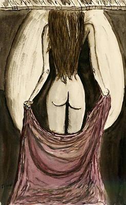 Waiting  For You..... Art Print by Shlomo Zangilevitch