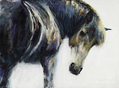 Painting - Waiting by Frances Marino