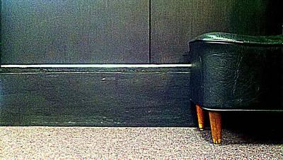 Foot Stool Photograph - Waiting by Gina  Zhidov