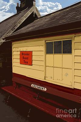Wooden Platform Photograph - Waiting by Gordon Wood
