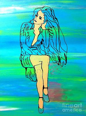 Painting - Waiting II by Saundra Myles