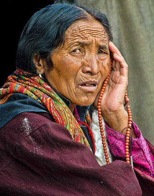 Photograph - Waiting In Dharamsala For The Dalai Lama by Don Schwartz