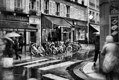 Waiting In The Bar For The Rain To Pass #1 Art Print