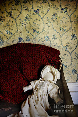 Cloth Doll Photograph - Waiting In The Crib by Margie Hurwich