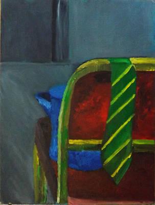 Teapot Painting - Waiting by Jason Kimble