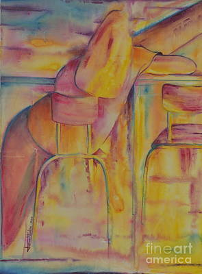 Painting - Waiting by Jaswant Khalsa