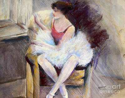 Waiting Art Print by Joyce A Guariglia