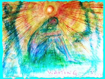 Drawing - Waiting by Leanne Seymour