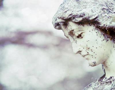 Waiting On Eternity Cemetery Photo Art Print by Sonja Quintero