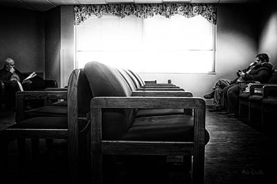 Cinematic Photograph - Waiting Room by Bob Orsillo