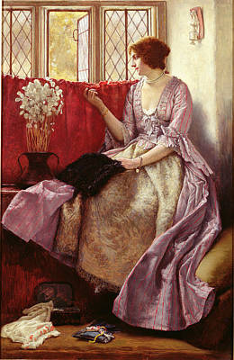Honesty Painting - Waiting by Sir James Dromgole Linton