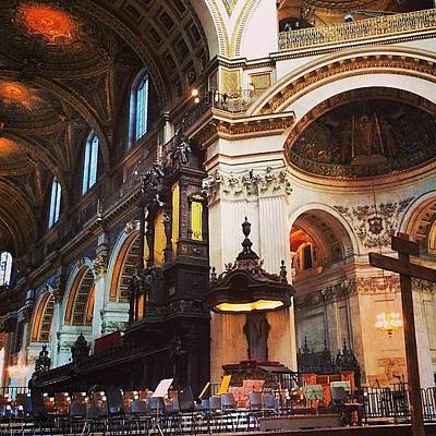 Mozart Photograph - Waiting. St John Passion #stpaulslondon by Alex Nisbett