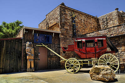 Photograph - Waiting Stagecoach by Brenda Kean