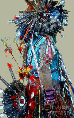 Pow Wow Photograph - Waiting To Dance by Linda  Parker