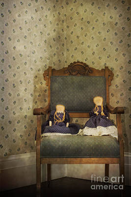 Cloth Doll Photograph - Waiting To Play by Margie Hurwich