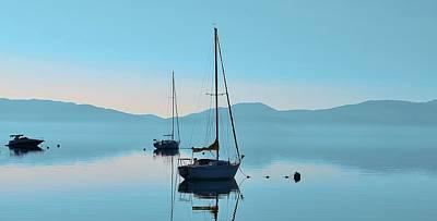 Photograph - Waiting To Sail by Marilyn MacCrakin