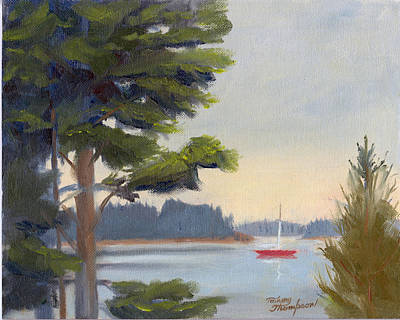 North Haven Island Painting - Waiting by Tommy Thompson