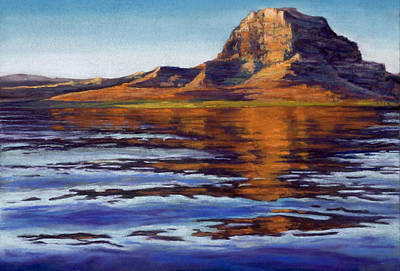 Painting - Wake Powell by Marjie Eakin-Petty