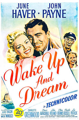 Wake Up And Dream, Us Poster, From Left Art Print by Everett
