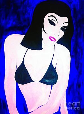 Painting - Wake Up My Beauty Pop by Saundra Myles