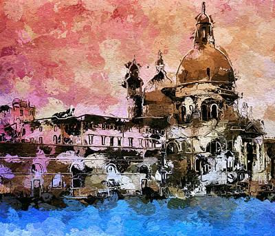 Wake Up Venice Art Print