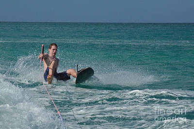 Wakeboarder Photograph - Wakeboard Wipeout by DejaVu Designs