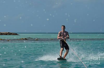 Wakeboarder Photograph - Wakeboarder by DejaVu Designs