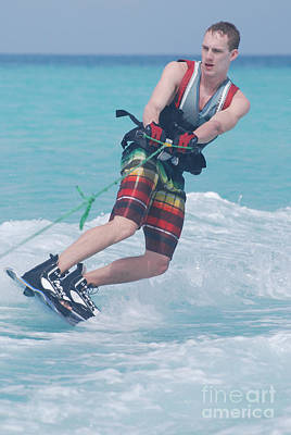 Wakeboarder Photograph - Wakeboarding Style by DejaVu Designs