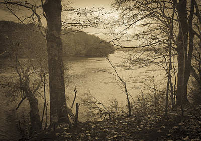 Photograph - Wakeby Pond Fall 2014 by Frank Winters