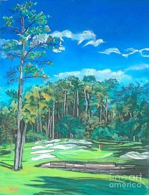 Walden On Lake Conroe Hole 8 Art Print by Frank Giordano