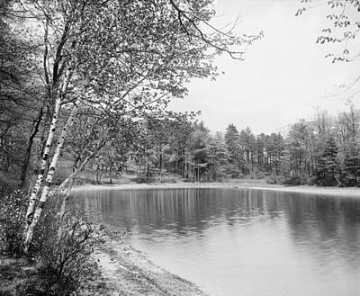 Walden Pond Photograph - Walden Pond, C1905 by Granger