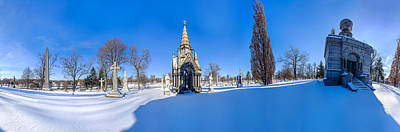 Photograph - Walden Pratt And Jewett At Forest Lawn - Pano by Chris Bordeleau