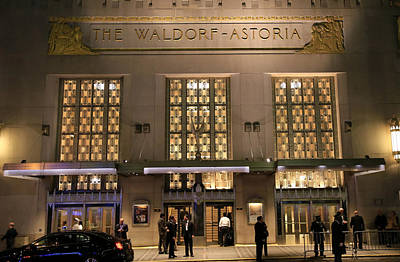 Photograph - Waldorf Astoria Hotel 1 by Andrew Fare
