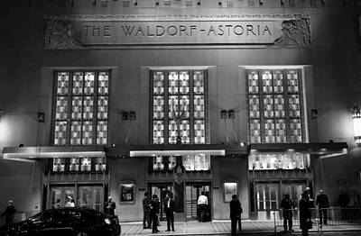 Photograph - Waldorf Astoria Hotel 1b by Andrew Fare