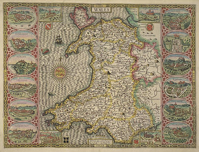 Wales Art Print by British Library
