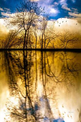 Autumn Photograph - Walk Along The River by Bob Orsillo