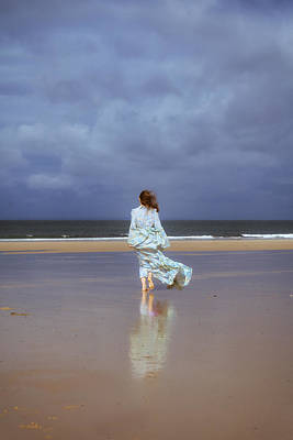 Bare Feet Photograph - Walk At The Beach by Joana Kruse