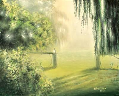 Shrubbery Painting - Walk In A Dream by Melissa Herrin