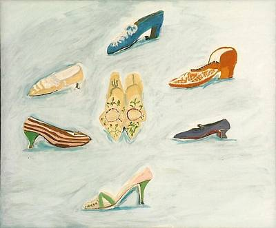 Painting - Walk In My Shoes by Carmela Cattuti