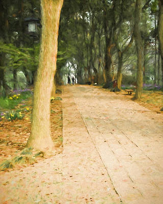 Walk In The Park Art Print by Ike Krieger