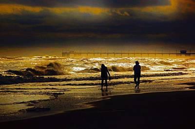 Walk In The Surf Colored Original