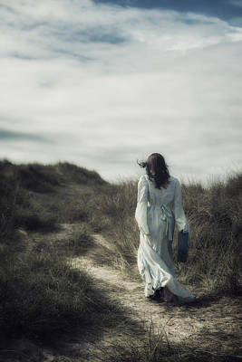 Thoughtful Photograph - Walk In The Wind by Joana Kruse